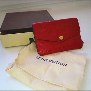 Louis Vuitton Cerise Empreinte Pochette Cles